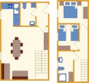Apartment Rombon Bovec layout - type D